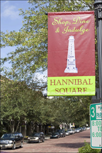 hannibal square, winter park florida